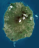 Nevis Sat Image