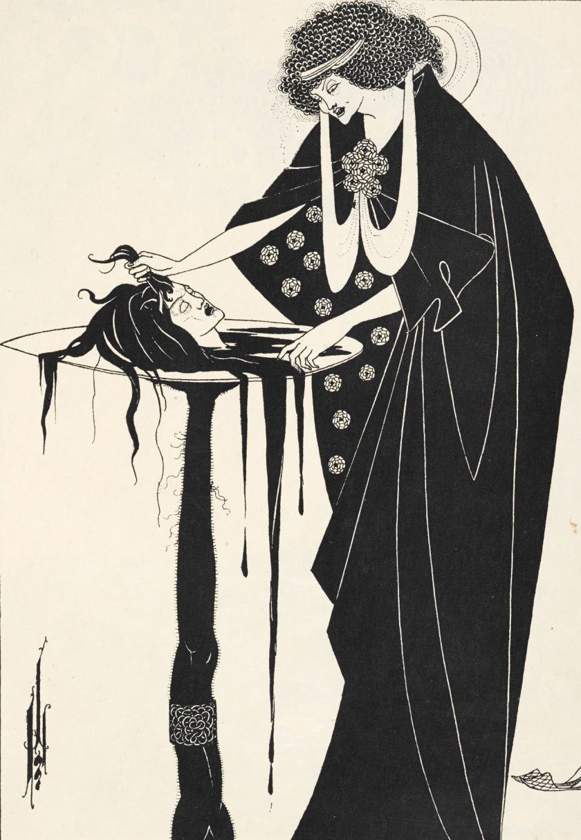 gw blog aubrey beardsley salome w head