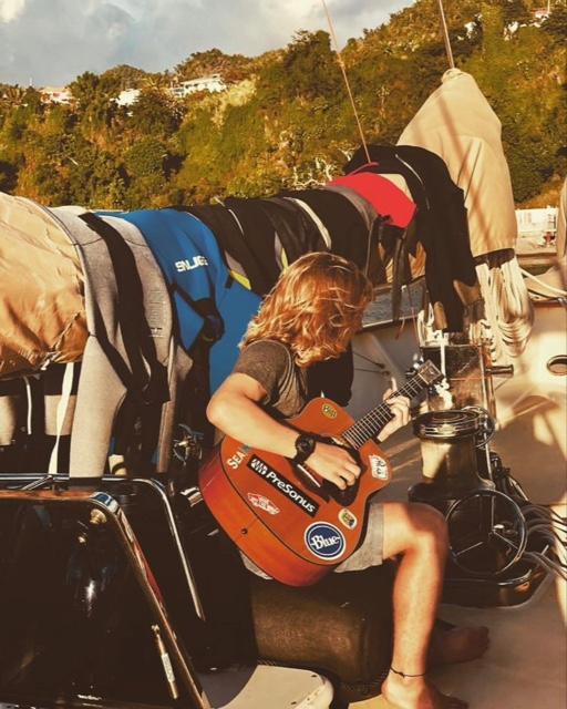 GW Blog Drake Island Musician