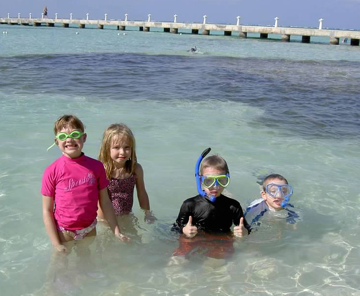 GW Blog Grand Cayman 10-11 Rum Point Kids Swim - Crop
