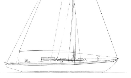 Classic Nielsen Designed and Luke Built Sailing Yacht - 1966